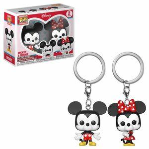 FUNKO DISNEY POP! KEYCHAIN: Disney - Mickey & Minnie 2PK