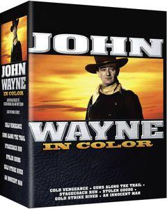 John Wayne in Color