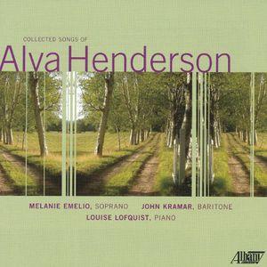 Collected Songs of Alva Henderson