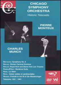 Pierre Monteux & Charles Munch Conduct