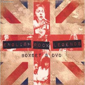 Boxset British Rock Legends [Import]
