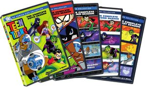 Teen Titans: The Complete Seasons 1-5