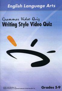 Writing Style Video Quiz
