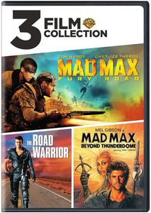 3 Film Collection: Mad Max /  The Road Warrior /  Mad Max Beyond Thunderdome
