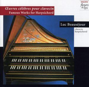 Oeuvres Celebres Pour Clavecin