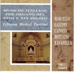 Musiche Italiane Per Organo Del Xviii E Xix Sec