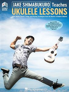 Teaches Ukulele Lessons (Video /  Book)