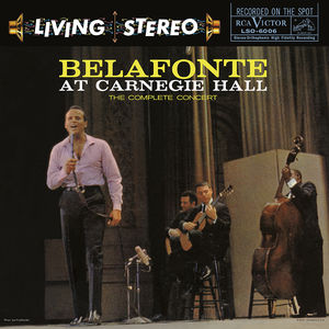 Belafonte At Carnegie Hall