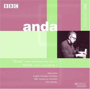 Piano Concertos Nos. 16 & 17 /  Piano Cto No. 2