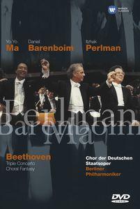 Beethoven: Triple Concerto /  Choral Fantasy