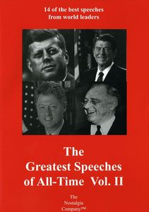 The Greatest Speeches of All-Time: Volume II