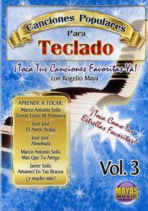 Canciones Populares Para Teclado: Volume 3