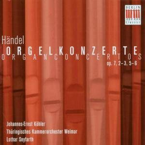 Organ Concerto Op. 7 2-3 5-6