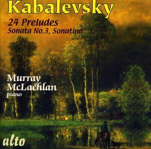 24 Preludes: Sonata 3 Sonatina