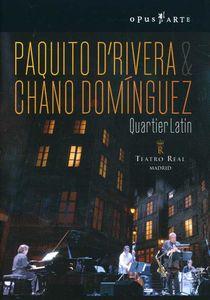 Paquito D'Rivera & Chano Domínguez: Quartier Latin