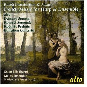French Chamber Music For Harp & Ensembl