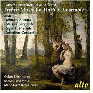 French Chamber Music For Harp & Ensembl