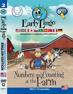 Early Lingo Numbers & Counting at the Farm Part 2 [Import]