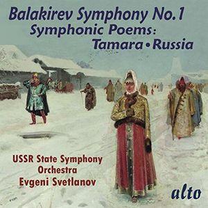 Balakirev: Symphony 1 /  Symphonic Poems Tamara
