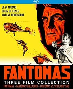 Fantômas Three Film Collection