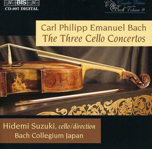 3 Cello Cti: WQ.170; WQ.171; WQ.172