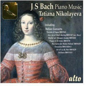 Tatiana Nikolayeva Plays Bach Piano Music