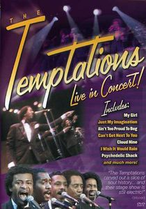 The Temptations: Live in Concert