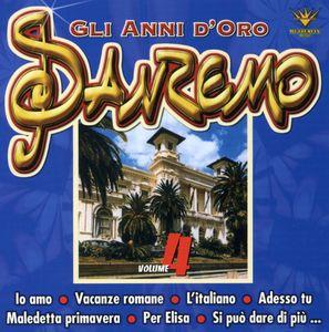 Festival Di San Remo: Gli Anni D'oro 4 /  Various [Import]