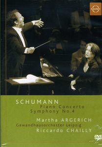 Schumann: Piano Concerto/ Symphony No. 4 [Import]