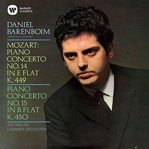 Mozart: Piano Concertos Nos. 14 & 15