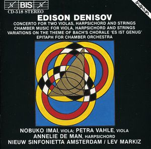 Concerto for 2 Violas, Harpsichord & Strings