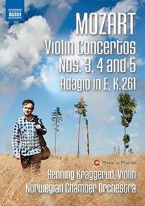 Mozart: Violin Concertos Nos 3-5 & Adagio in E K 261