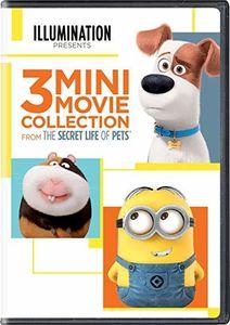 Secret Life Of Pets: 3 Mini-movie Collection