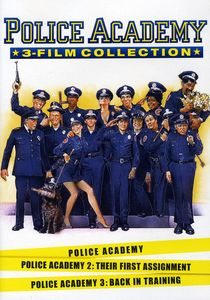 Police Academy 1-3 Collection