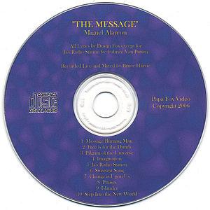 Message An Audio CD