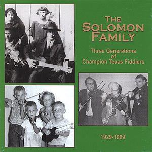 Three Generations of Champion Texas Fiddlers