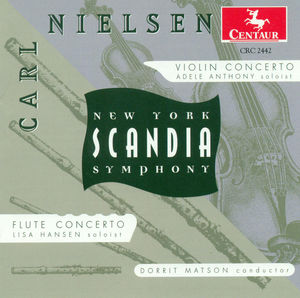 Violin Concerto Op 33 /  Flute Concerto