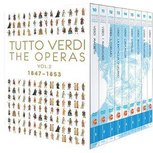 Tutto Verdi Operas 2 (1847 - 1853)