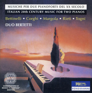 Italian 20th Century Music for Two Pianos