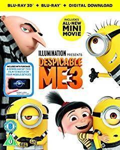 Despicable Me 3 (3D + 2D) [Import]