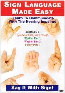 Sign Language Series 5-8