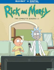 Rick And Morty: The Complete Seasons 1-3