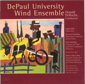 Depaul University Wind Ensemble Plays