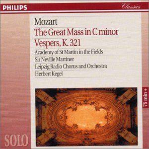 Mozart: Mass in C /  Vesperae K. 321