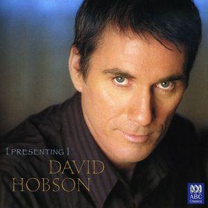 Presenting David Hobson [Import]