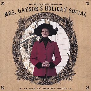 Selections from Mrs. Gaynors Holiday Social