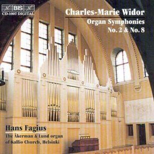 Organ Sym #2 in D Op 13 /  Organ Sym #8 in B Op 42