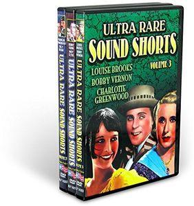 Pre-Code Ultra Rare Sound Shorts Collection