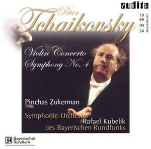 Symphony 4 F minor /  Violin Concerto D Major
