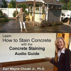 Learn How to Stain Concrete with the Concrete Stai